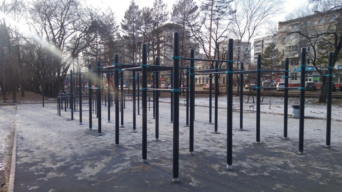 Khabarovsk - Street Workout Park - Центр Медицинских Комиссий