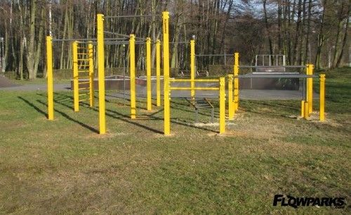 Zdzieszowice - Street Workout Park - Ulica Nowa