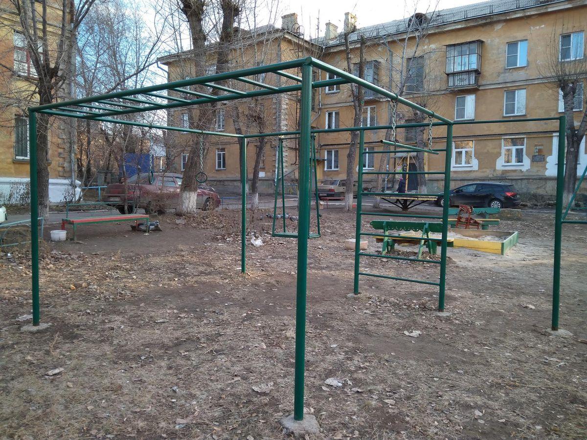 Chelyabinsk - Calisthenics Gym - Красное & Белое