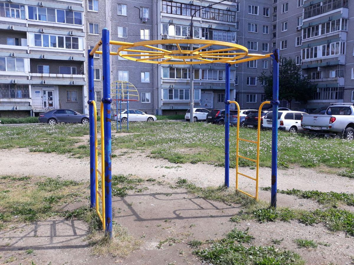 Verkhnyaya Pyshma - Street Workout Park - Кривоусова