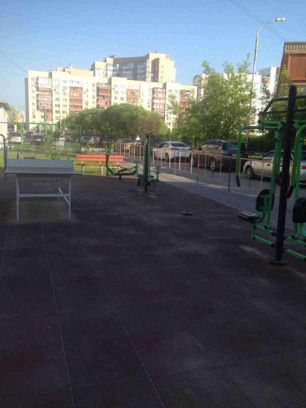 Tyumen - Street Workout Park - Улица Шиллера