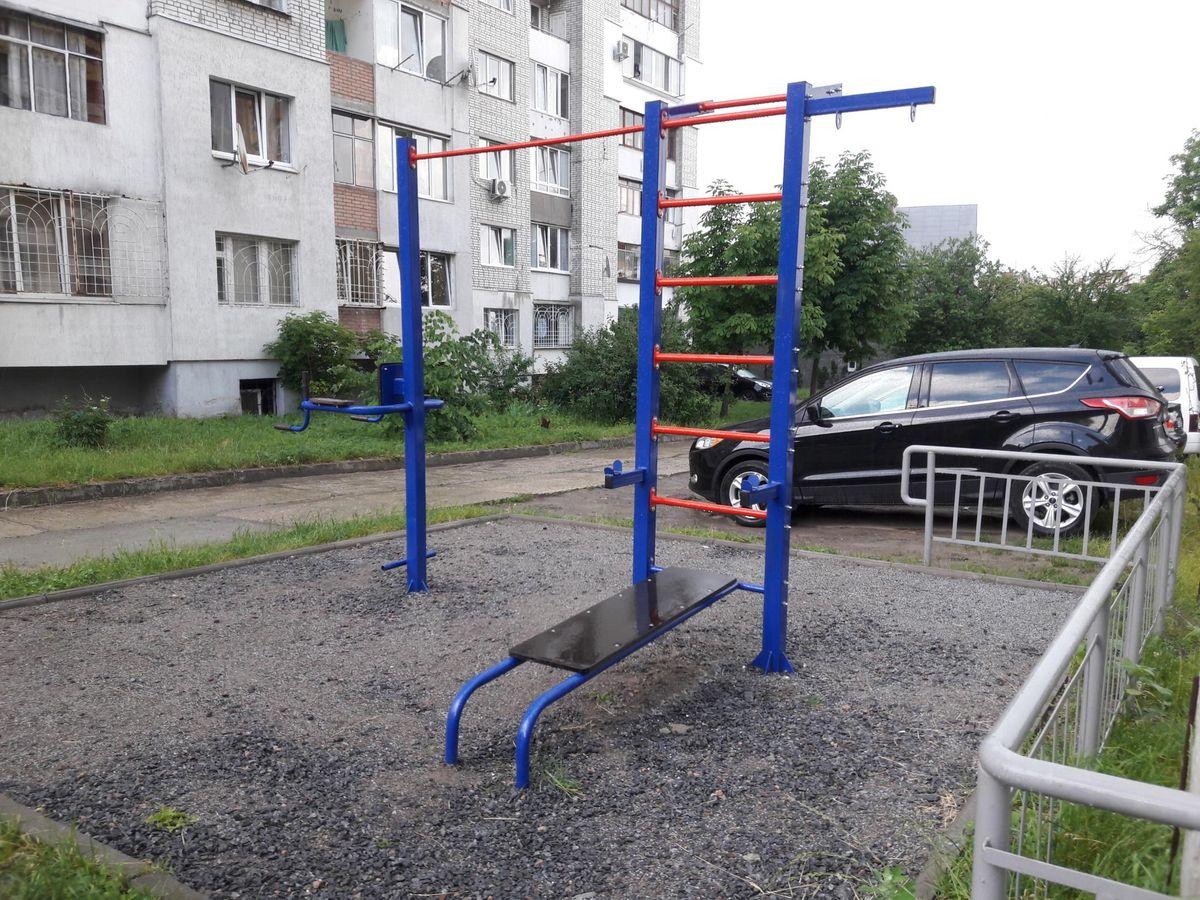 Lviv Oblast - Street Workout Park - Fitness Krustal