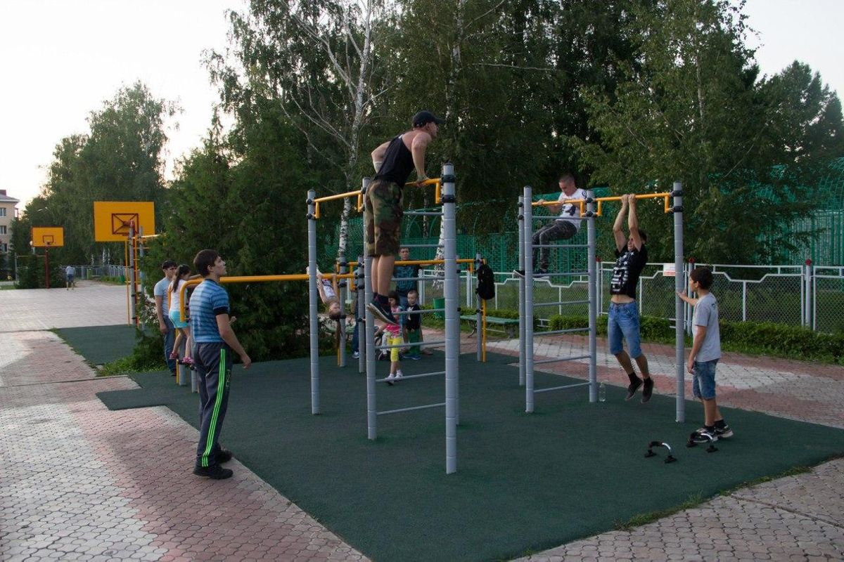 Almetyevsk - Street Workout Park - 423458