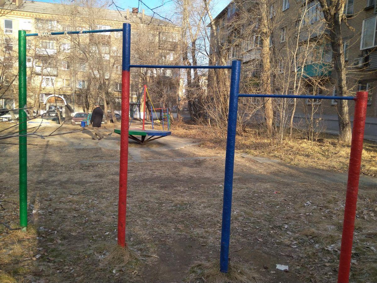 Chelyabinsk - Street Workout Park - Зенон