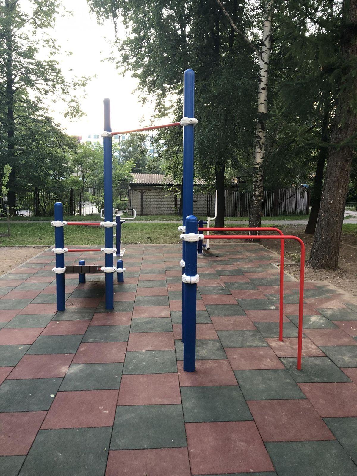 Mytishchi - Aire de Fitness - Проезд Первомайский 2-Й