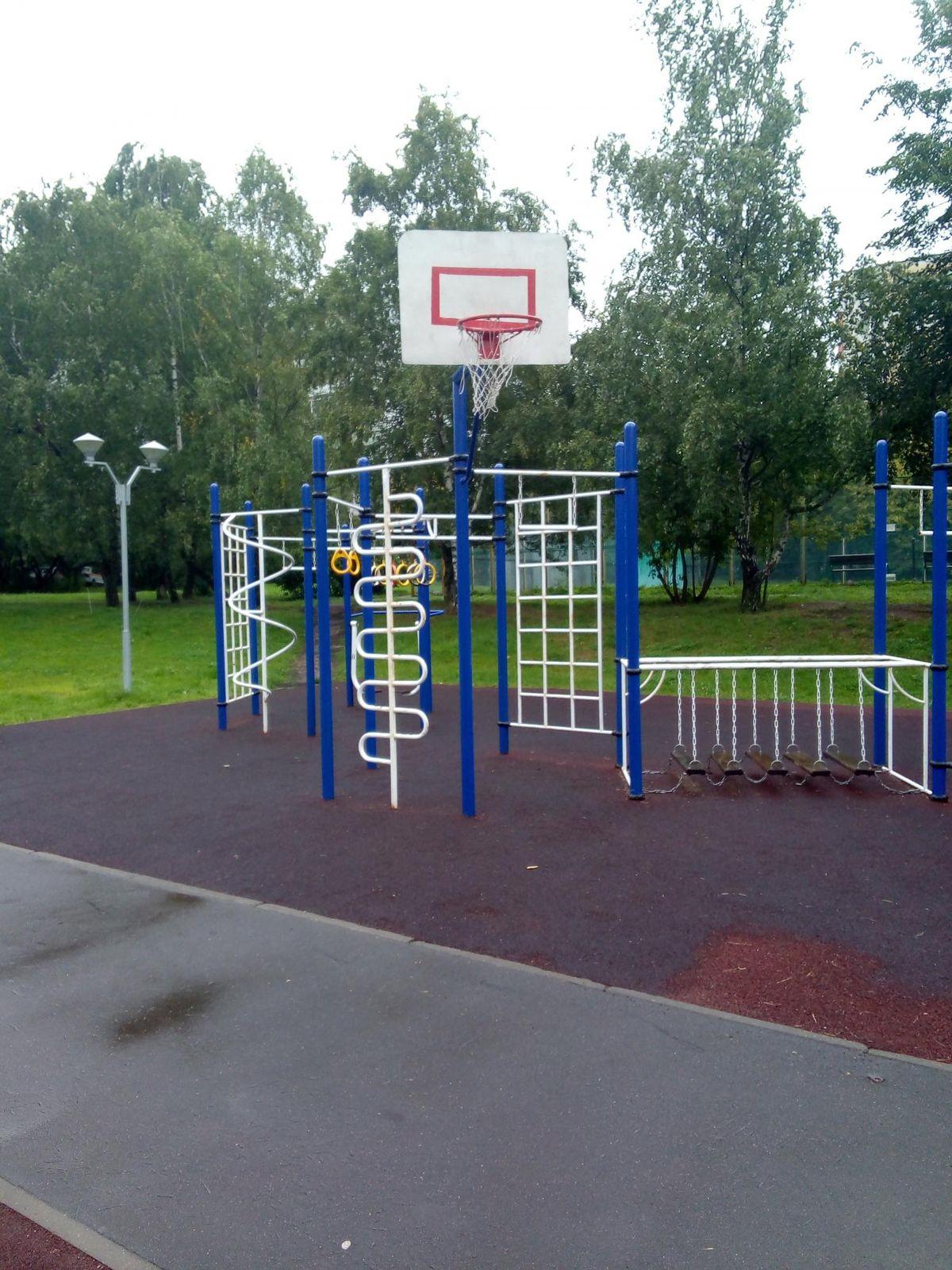 Moscow - Street Workout Park - Голубинская Улица
