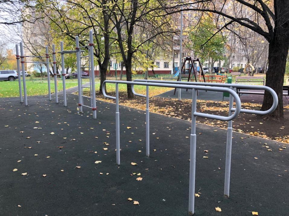 Moscow - Street Workout Park - Северный Бульвар