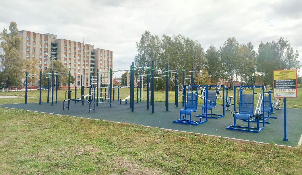 Stupino - Street Workout Park - Улица Пушкина