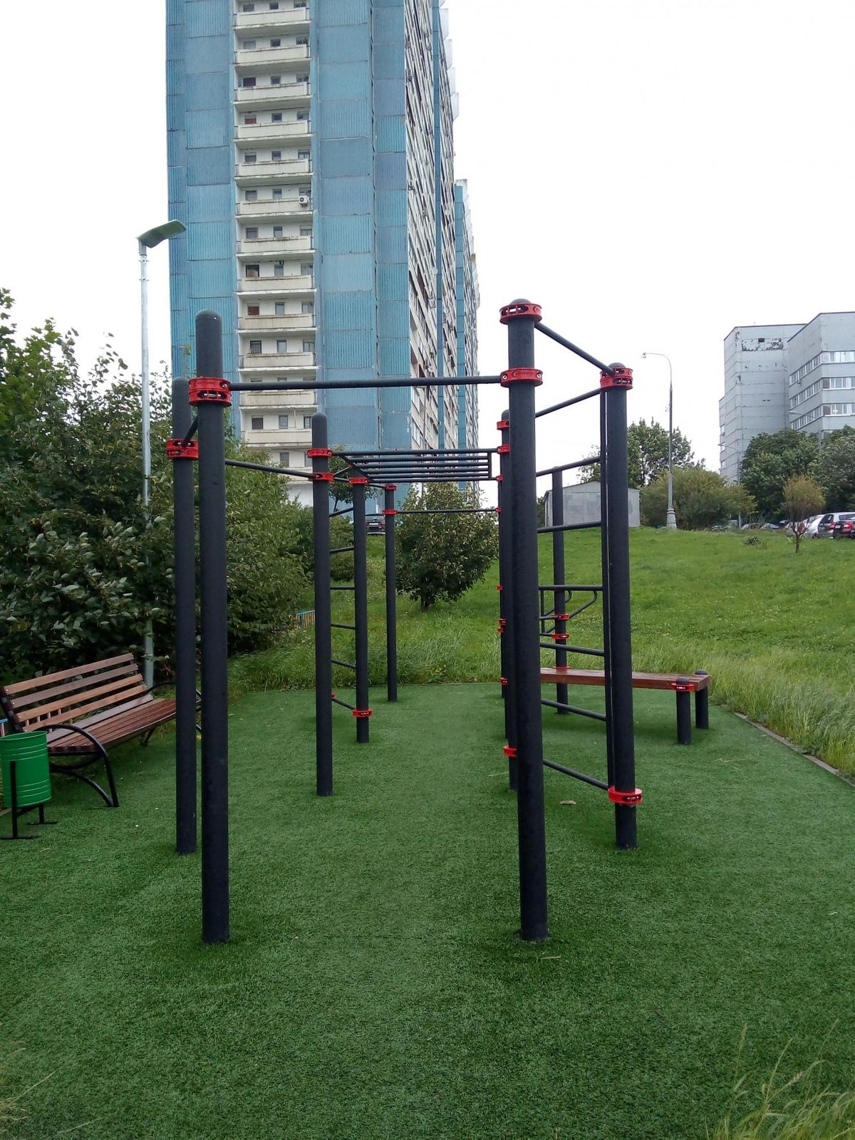 Moscow - Calisthenics Gym - Ясногорская Улица
