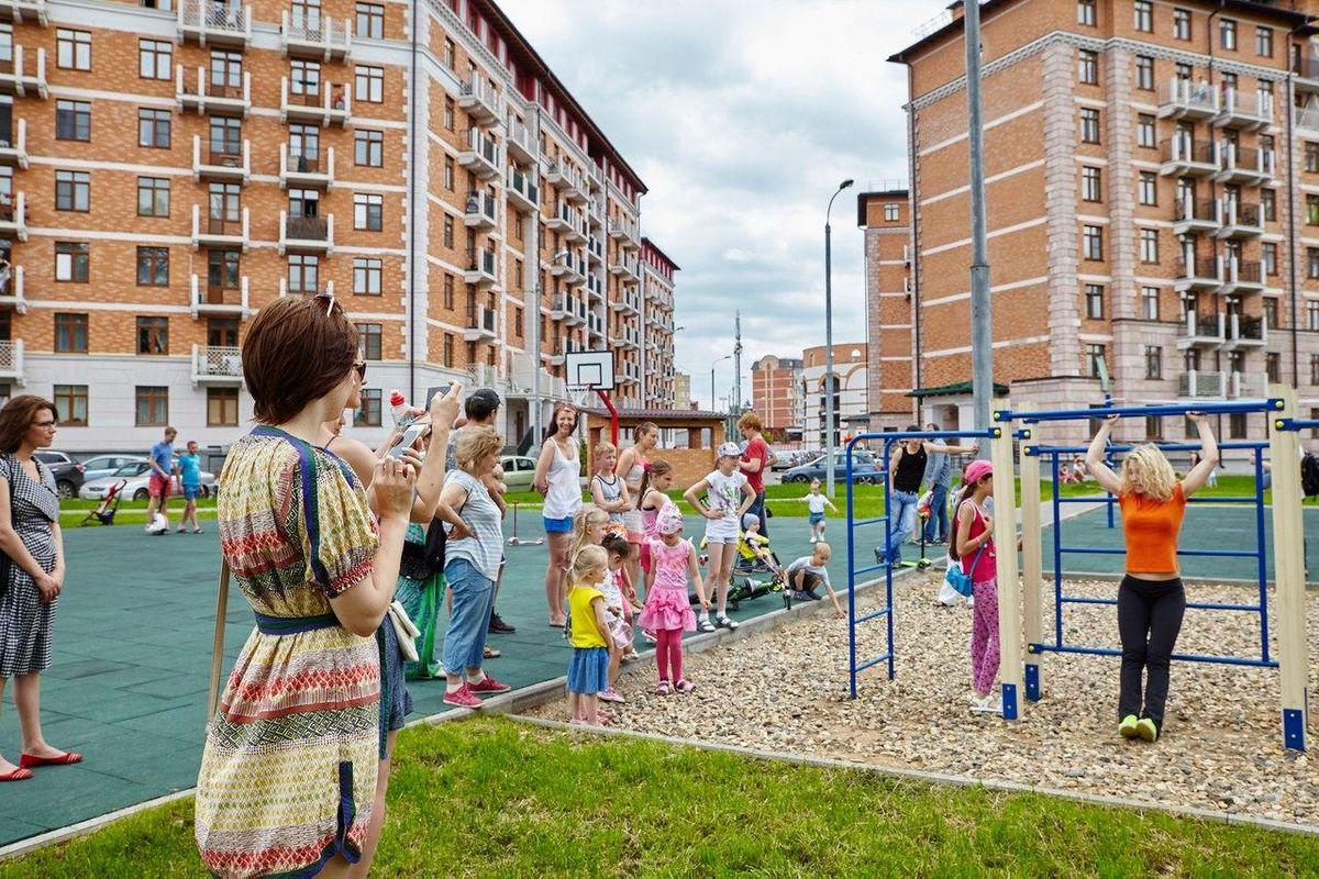 Krasnogorsk - Street Workout Park - Ул Дежнева (Опалиха)