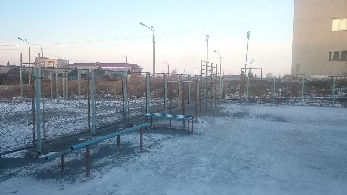 Kasli - Street Workout Park - Дикси