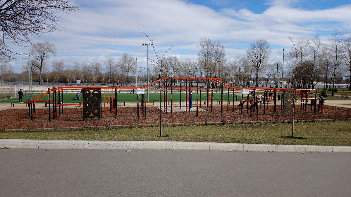 Kyiv - Street Workout Park - Спортивная Площадка