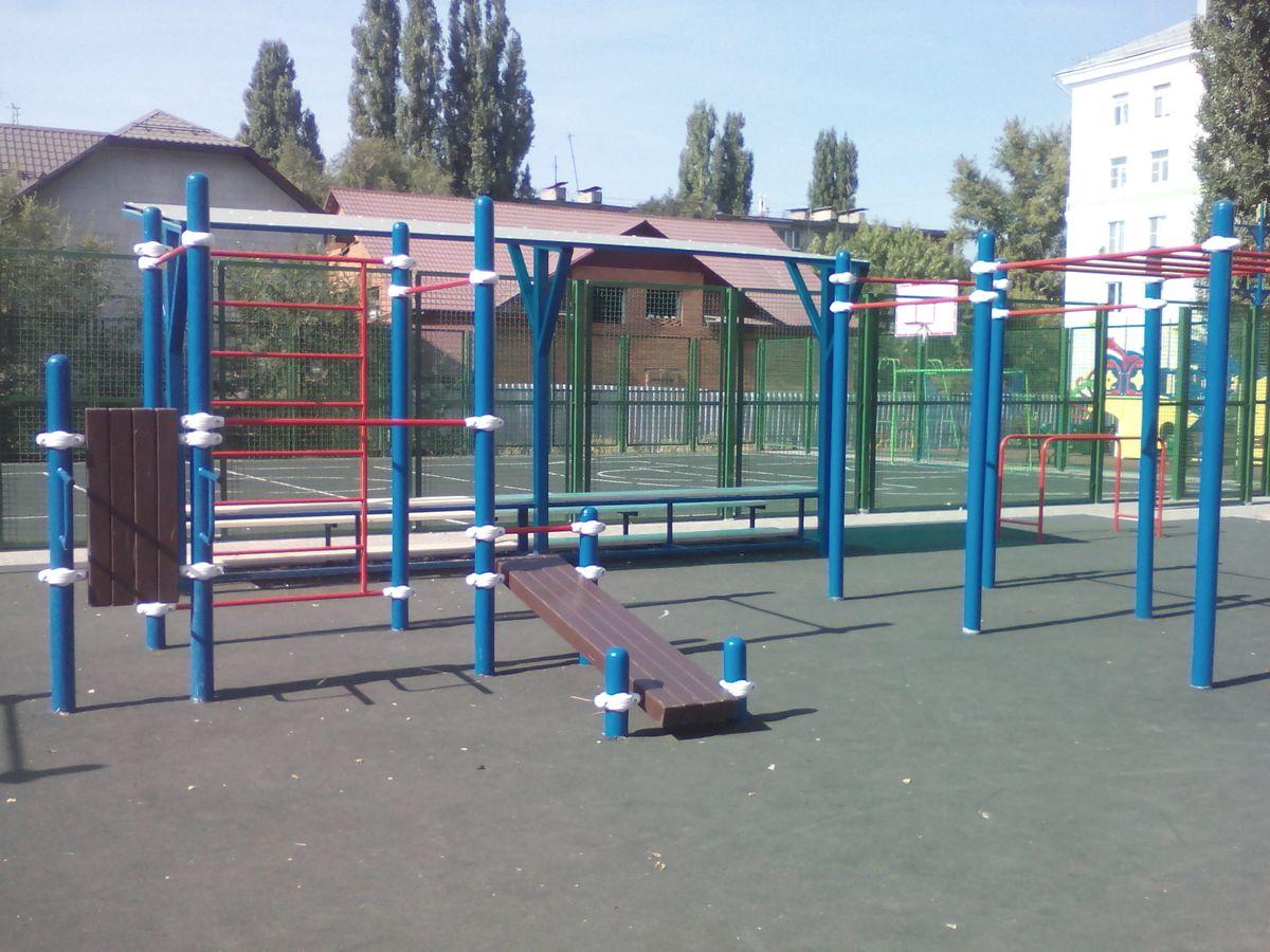 Lipetsk - Calisthenics Park - Площадь Мира
