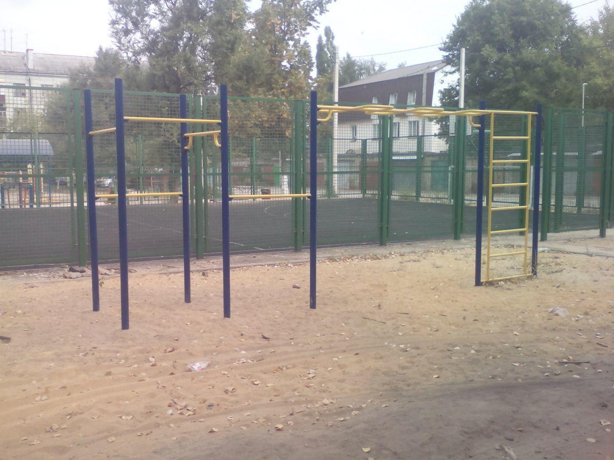 Lipetsk - Calisthenics Gym - Новолипецкий Парк