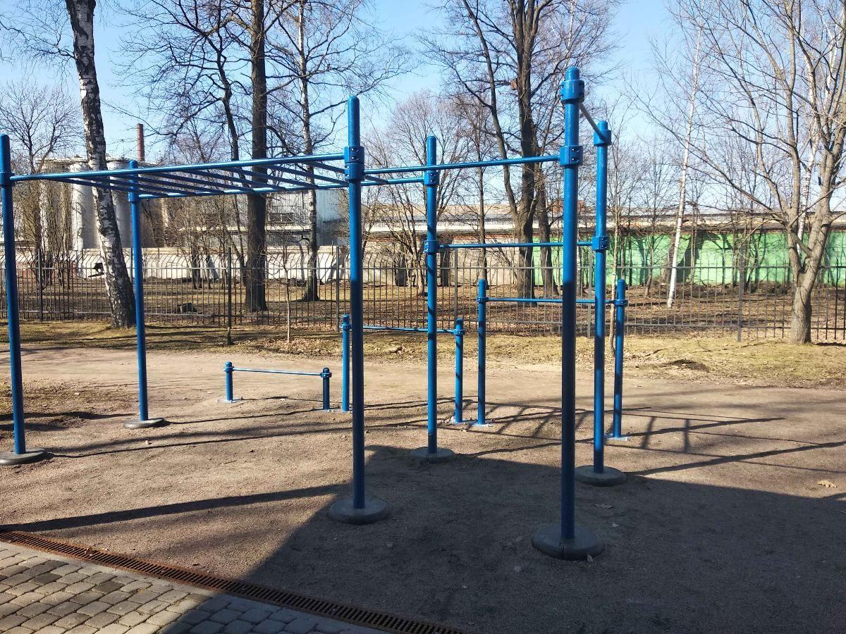 Saint Petersburg - Outdoor Gym - Наб Свердловская