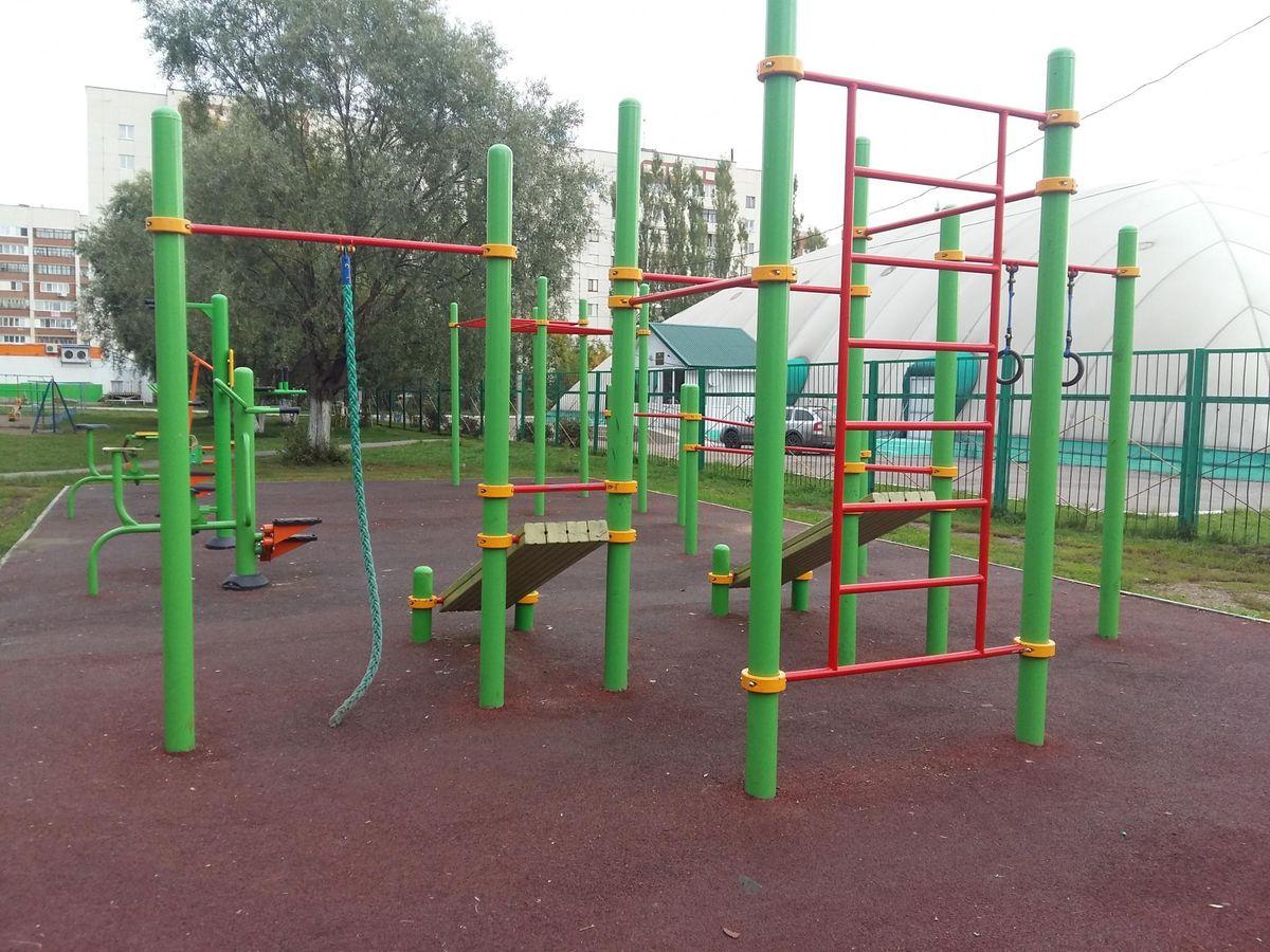 Ufa - Street Workout Park - Ул Ухтомского