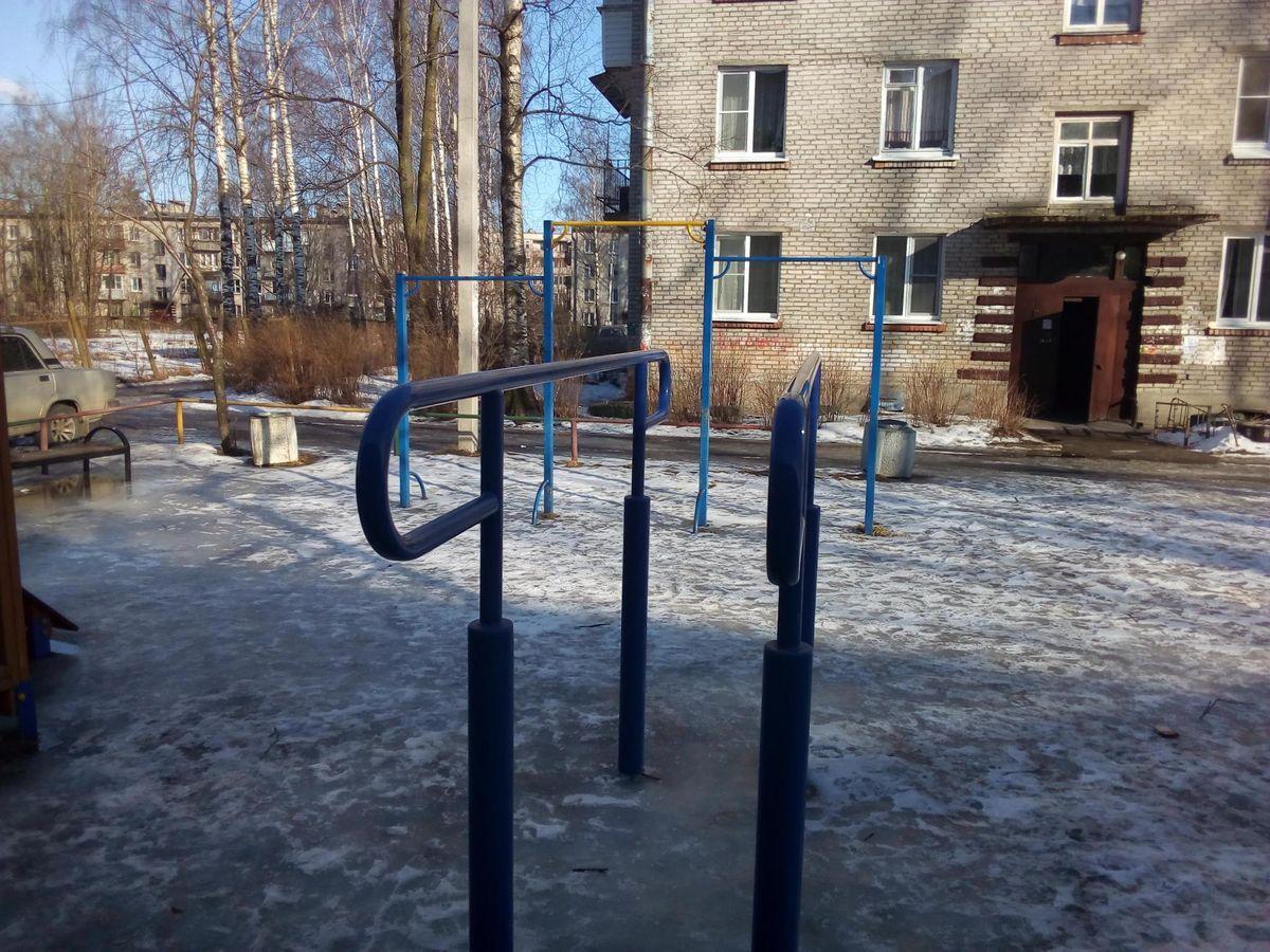 Telmanovskoe - Street Workout Park - Почта России
