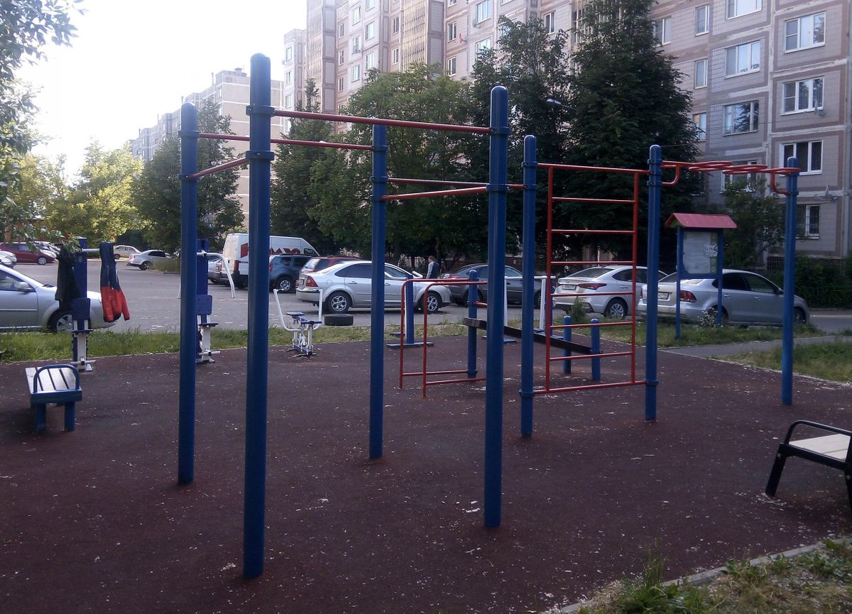 Chekhov - Street Workout Park - Тесей Магазин #35.