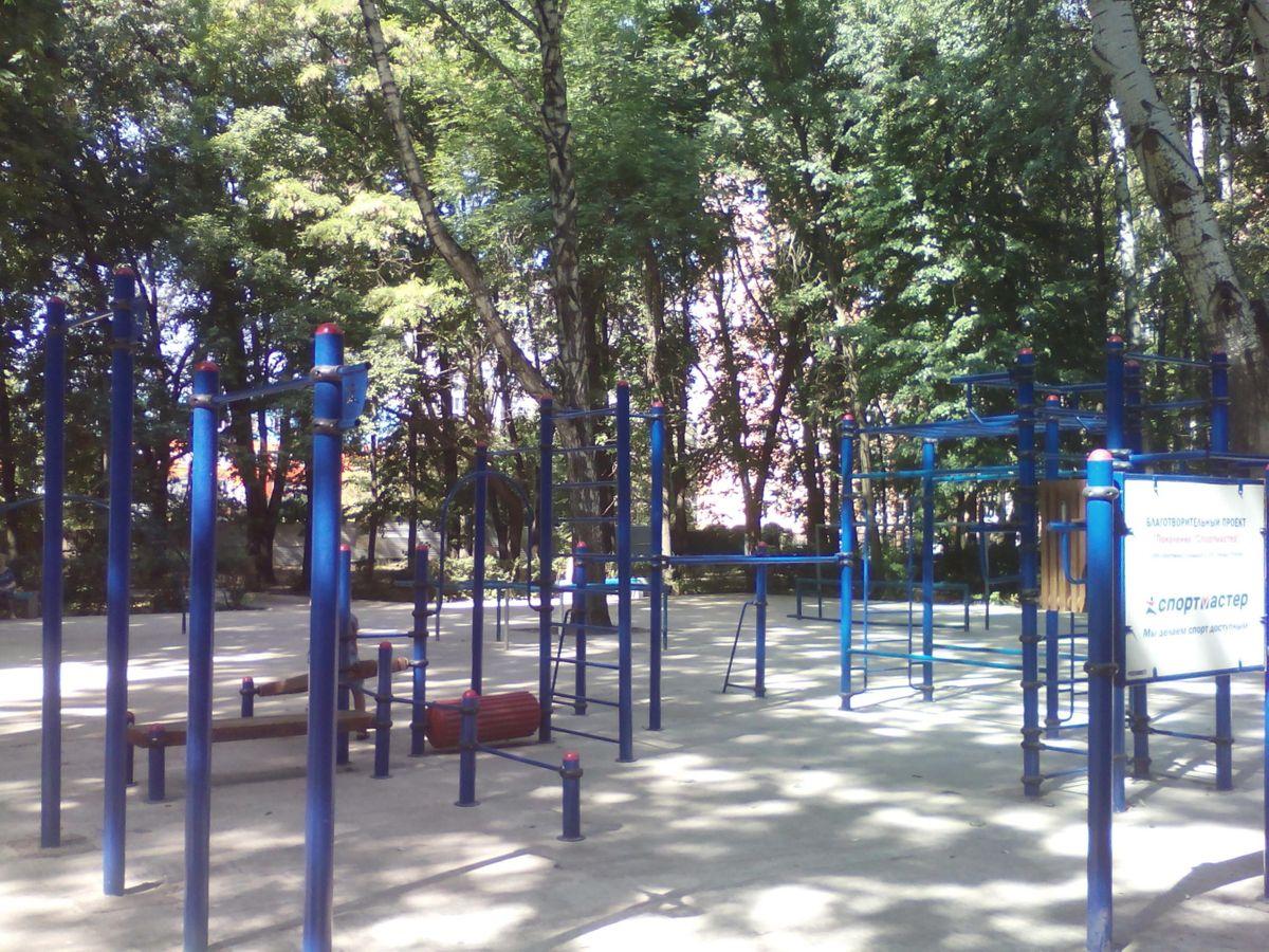 Lipetsk - Calisthenics Gym - Быханов Сад