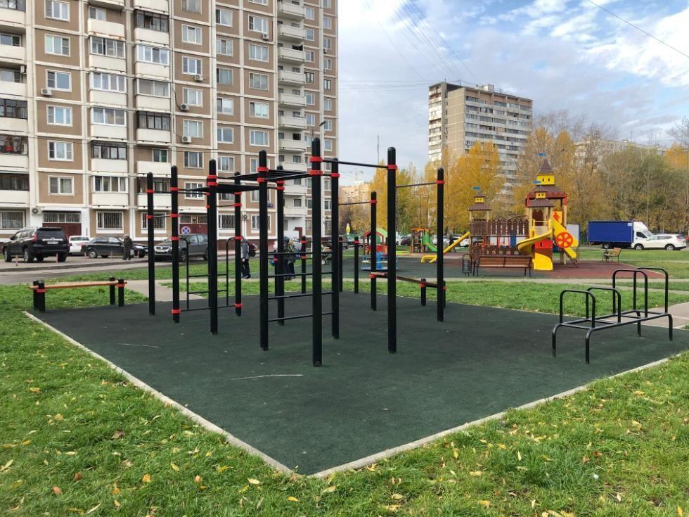 Moscow - Outdoor Gym - Бестужевых 25В