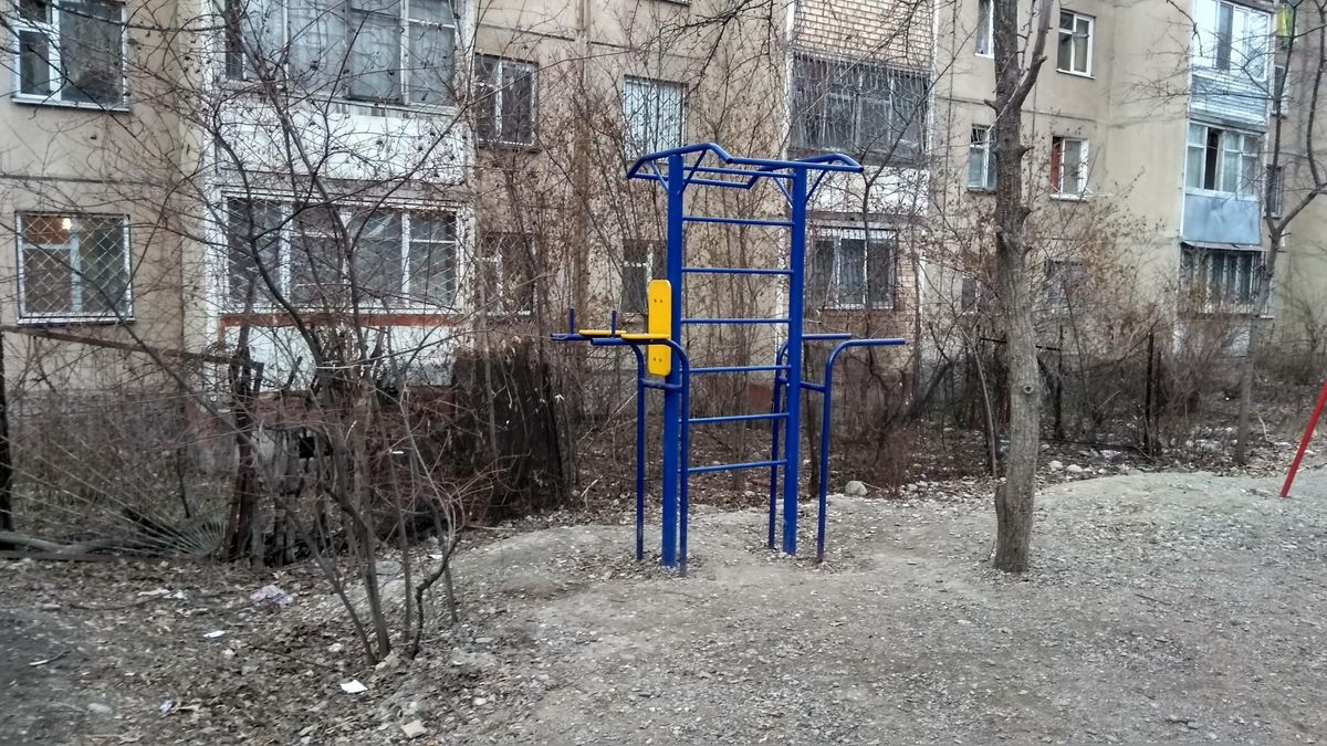 Bishkek - Calisthenics Park - Кафе Одиннадцатый - 11