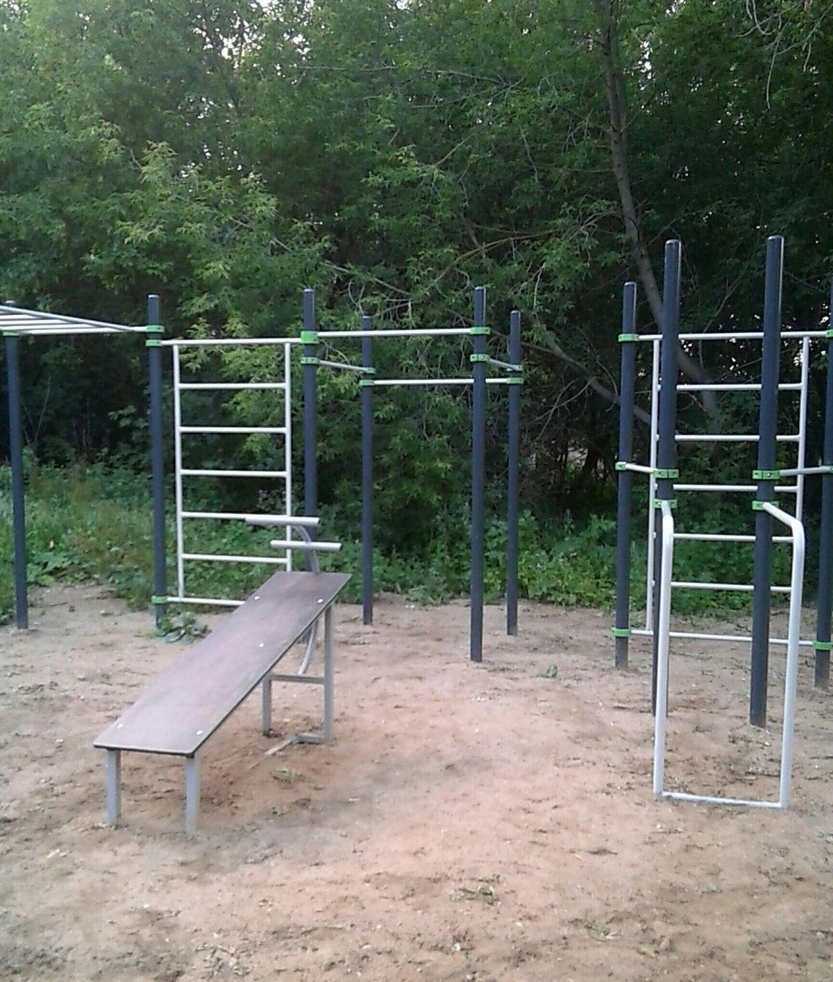 Ivanovo - Street Workout Park - Фитнес-клуб  Олимпия