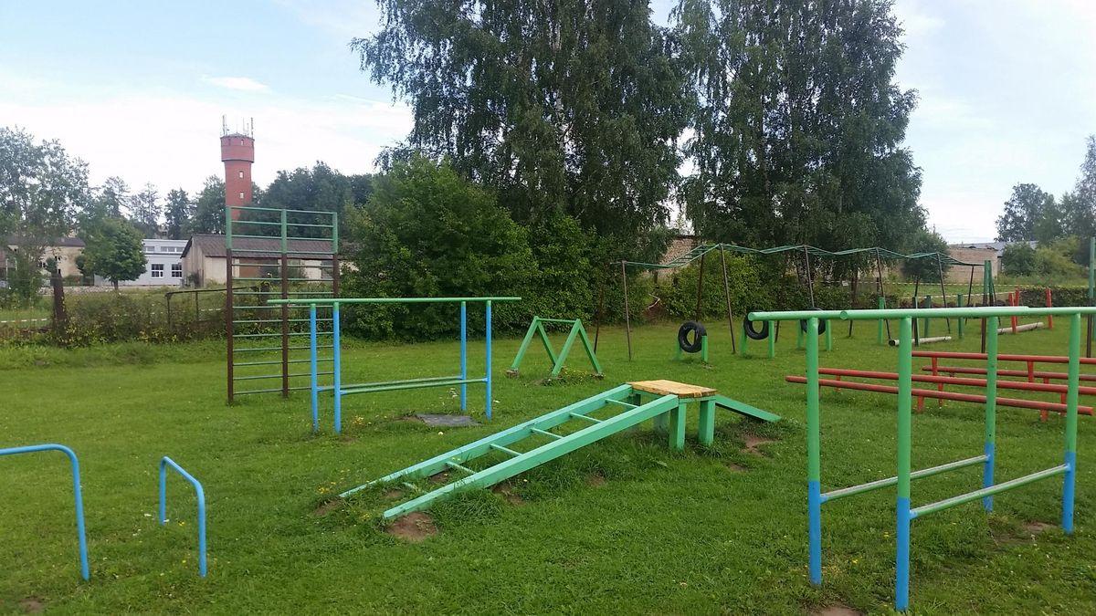 Priekuļi Parish - Street Workout Park - PT Svaru Zāle
