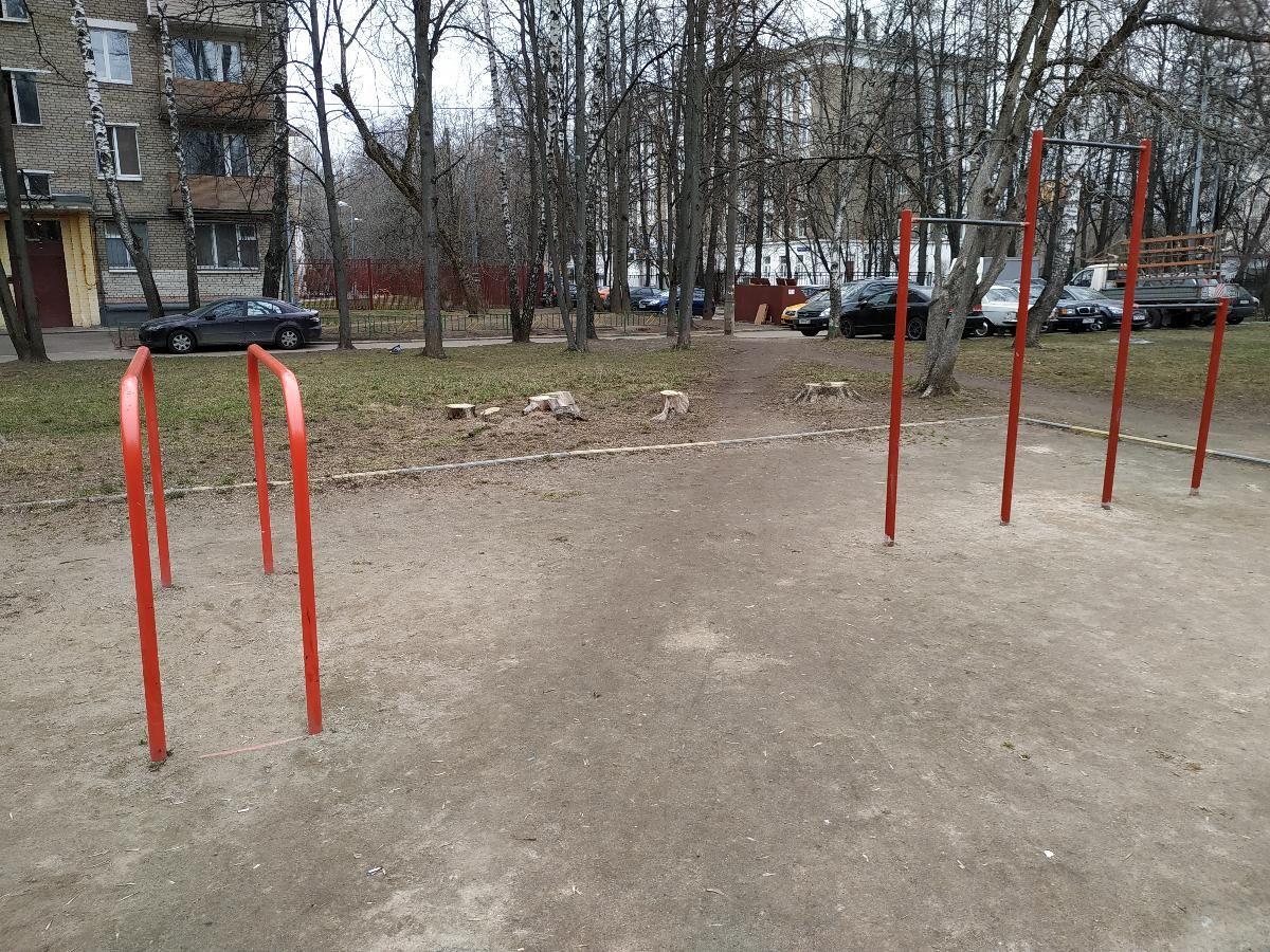 Moscow - Fitness Park - Улица Ивана Франко