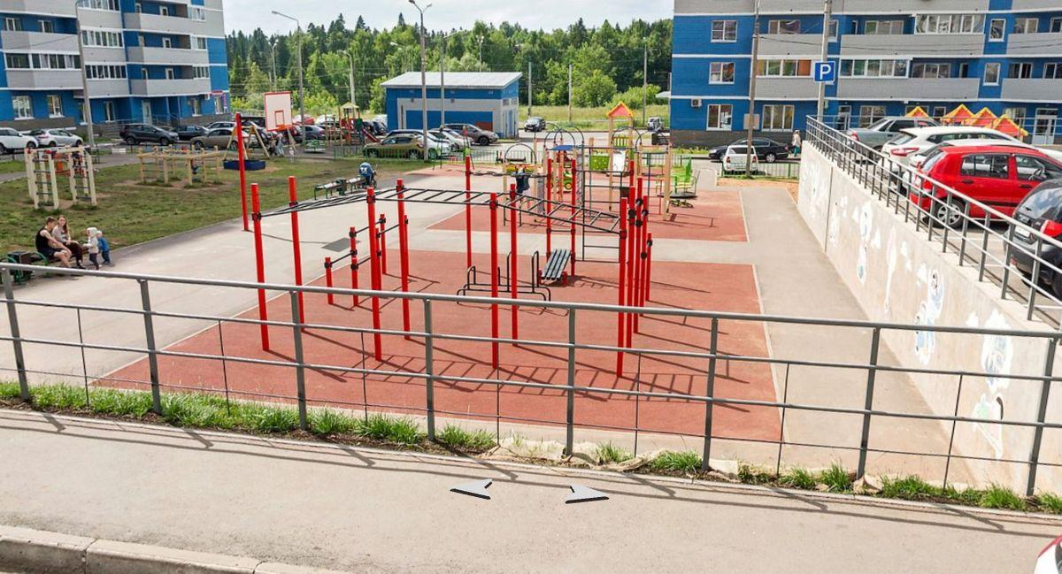 Izhevsk - Street Workout Park - Санаторий-профилакторий Ижнефтемаш