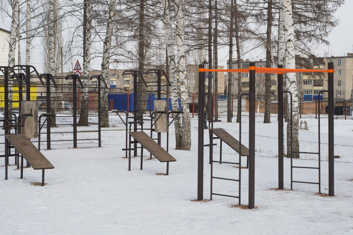 Salavat - Street Workout Park - Филиал Академии ФК Зенит (Зенит-Салават)
