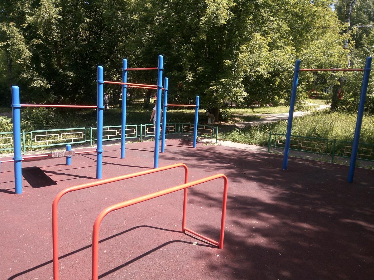 Chekhov - Outdoor Gym - Улица Чехова