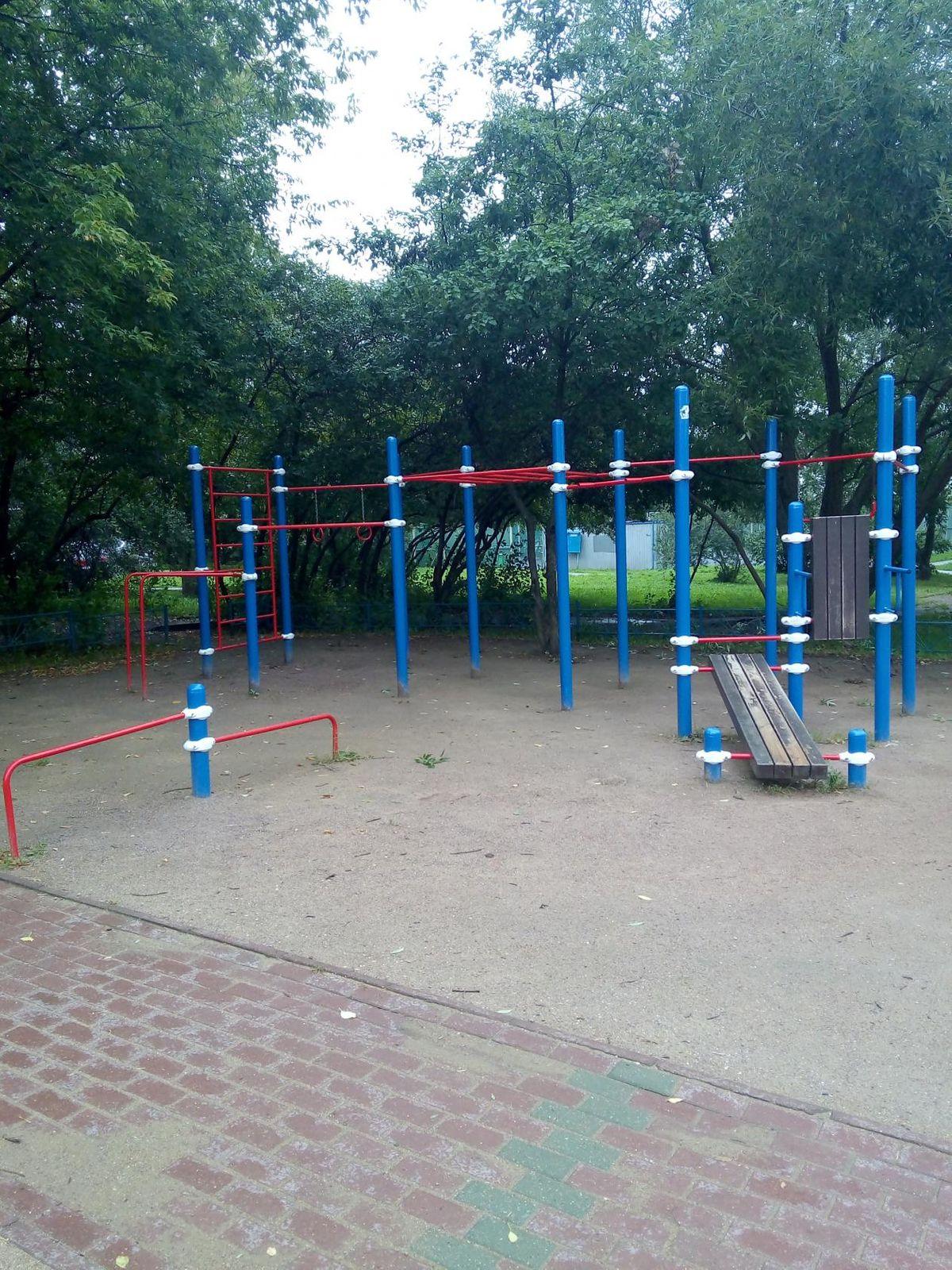 Moscow - Street Workout Park - Теремок
