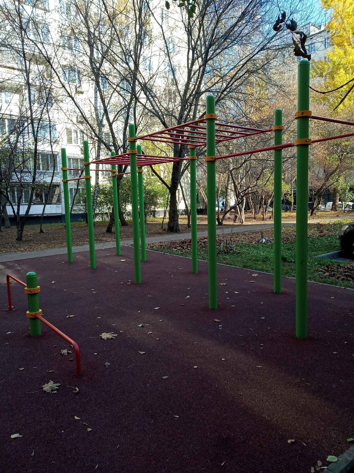 Moscow - Calisthenics Gym - Улица Маршала Тухачевского