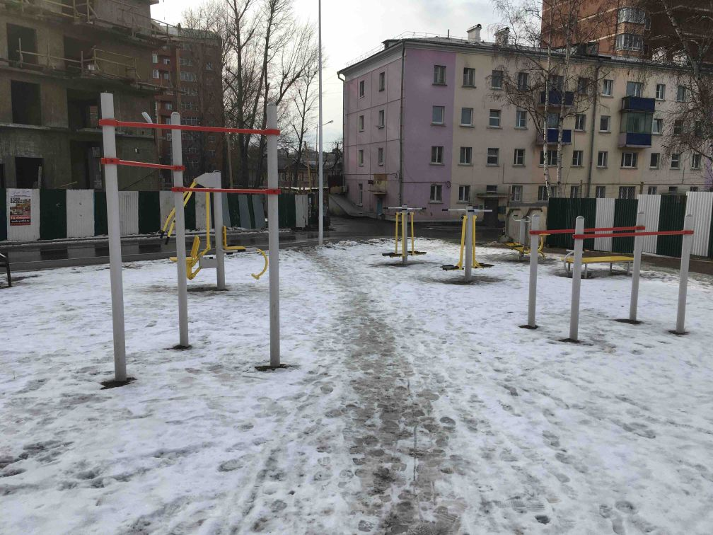 Irkutsk - Outdoor Gym - Депутатская 47/3