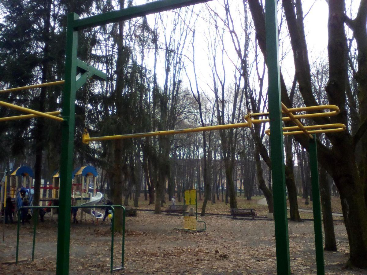 Rivne - Street Workout Park - Фітнес Порт