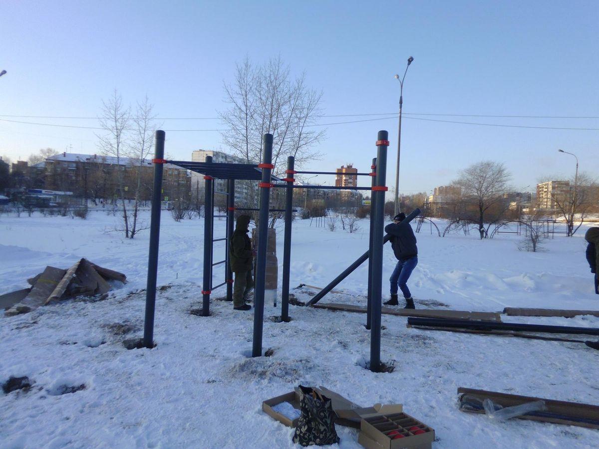 Bratsk - Street Workout Park - АкваЛюкс