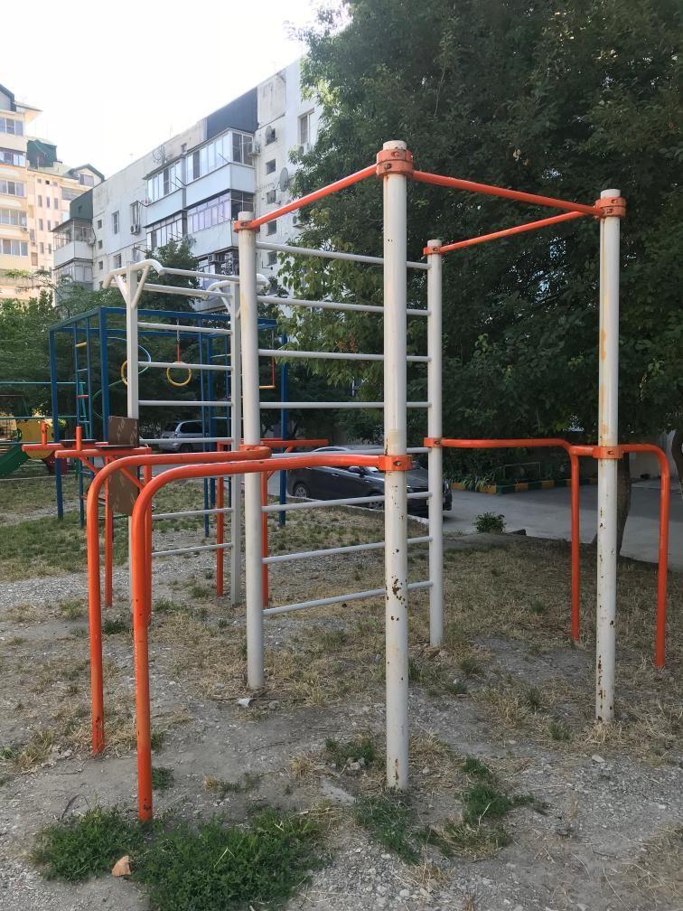 Novorossiysk - Street Workout Park - Днепровский Переулок