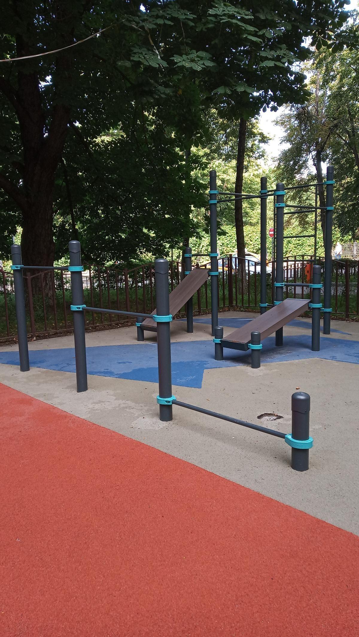 Moscow - Street Workout Park - Переулок Хользунова