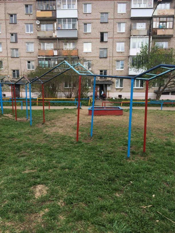 Ust-Kachkinskoe - Street Workout Park - ОАО  Сбербанк России