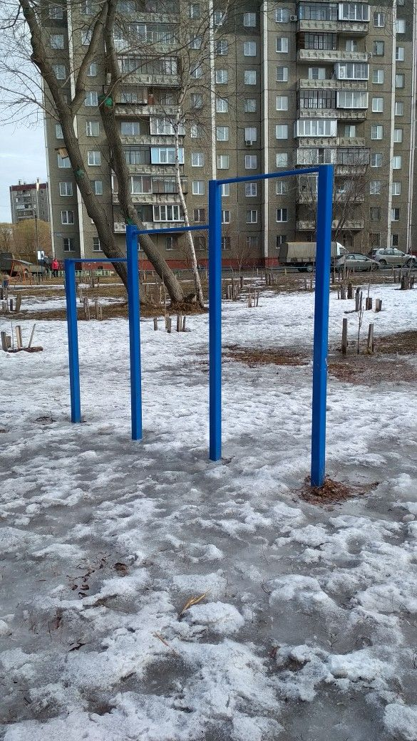 Chelyabinsk - Outdoor Gym - Аптека РОСТА