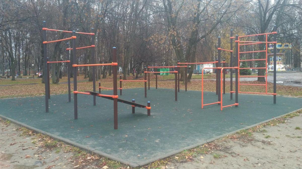 Yaroslavl - Street Workout Park - Почтовое Отделение 150054