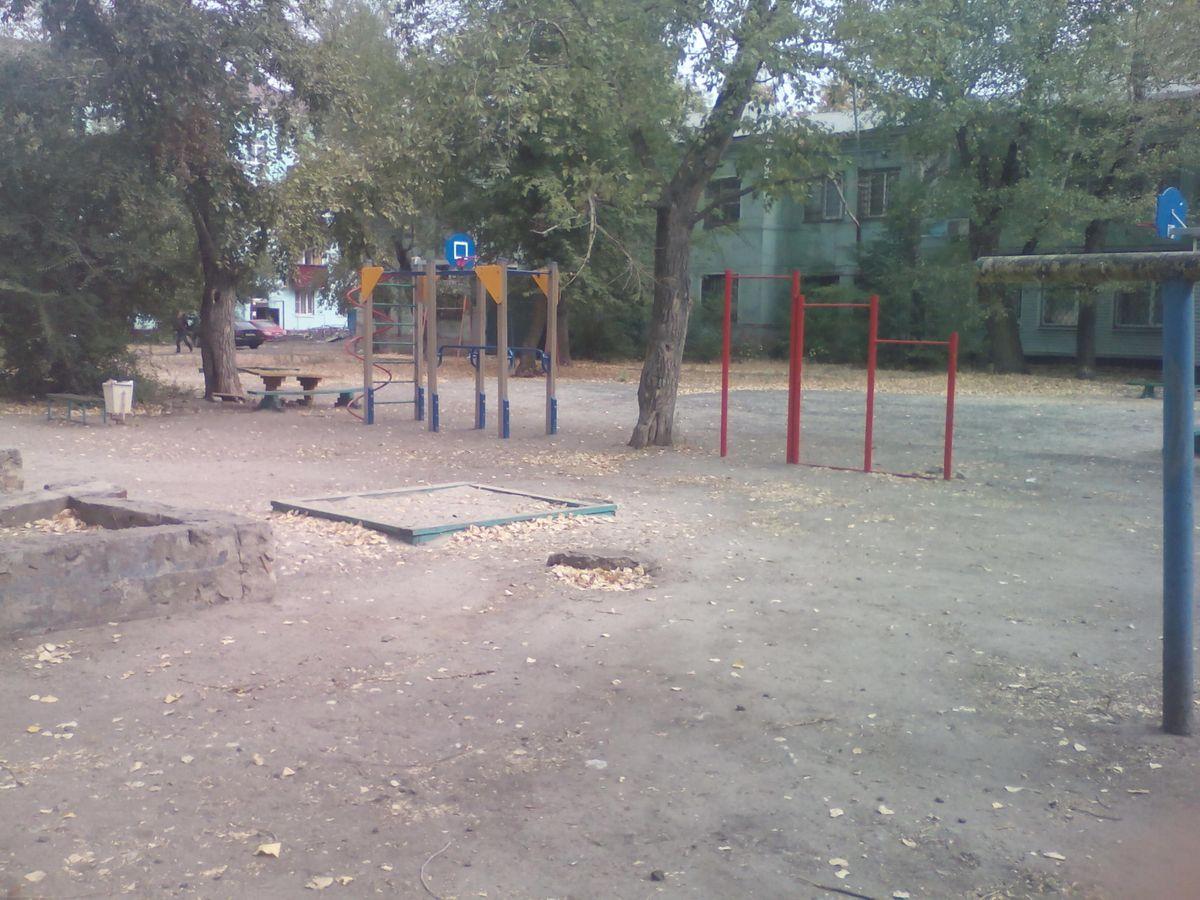 Lipetsk - Street Workout Park - Новолипецкий Парк