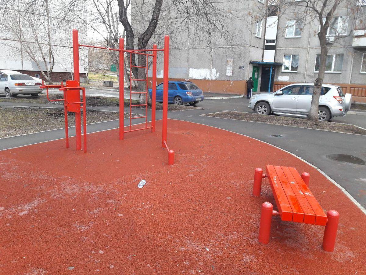 Novosibirsk - Street Workout Park - Улица Линейная