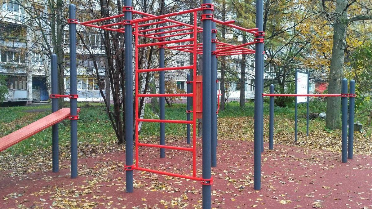 Yaroslavl - Street Workout Park - Толбухина 6