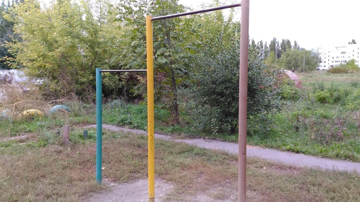 Borisoglebsk - Calisthenics Park - Трамплин