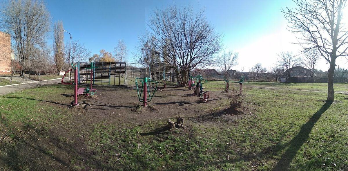 Donetsk - Calisthenics Park - Буденновская АС