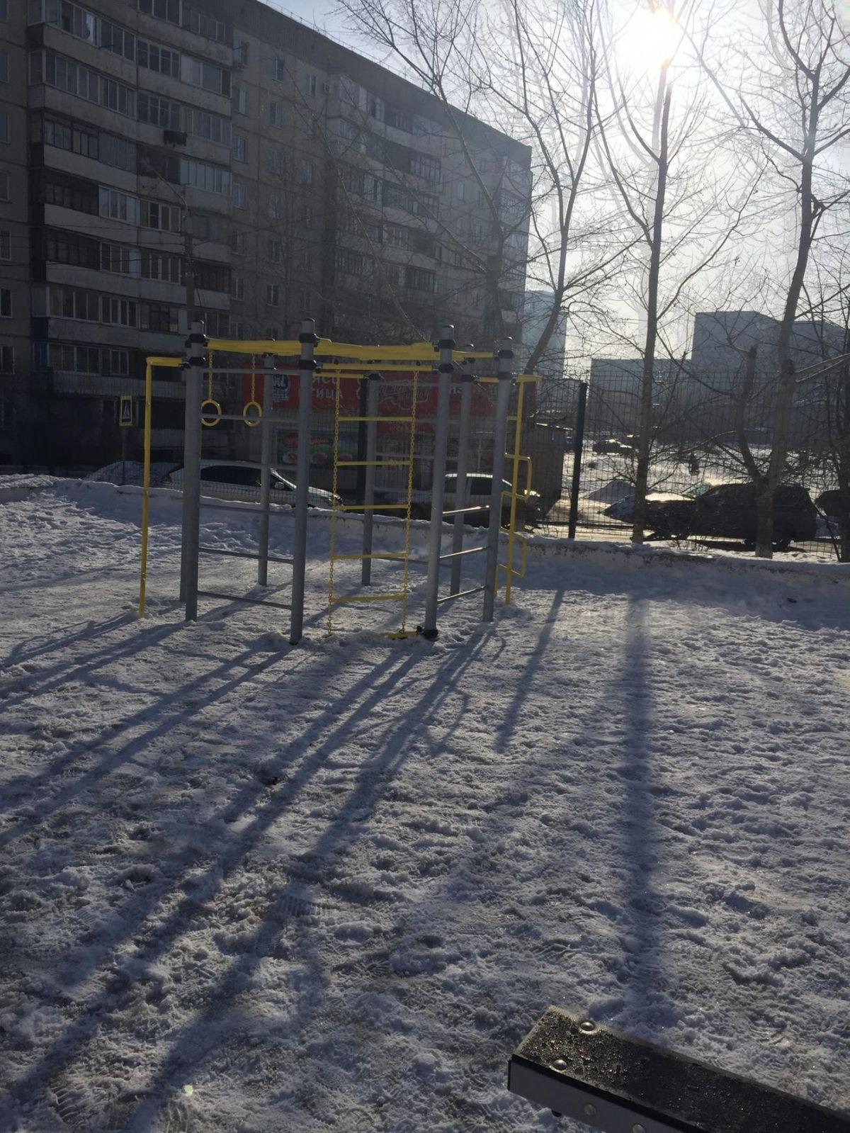 Barnaul - Street Workout Park - Детская Площадка  Анастасия
