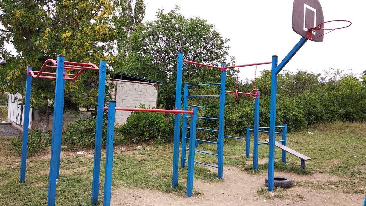 Crimean Peninsula - Calisthenics Park - Лозове