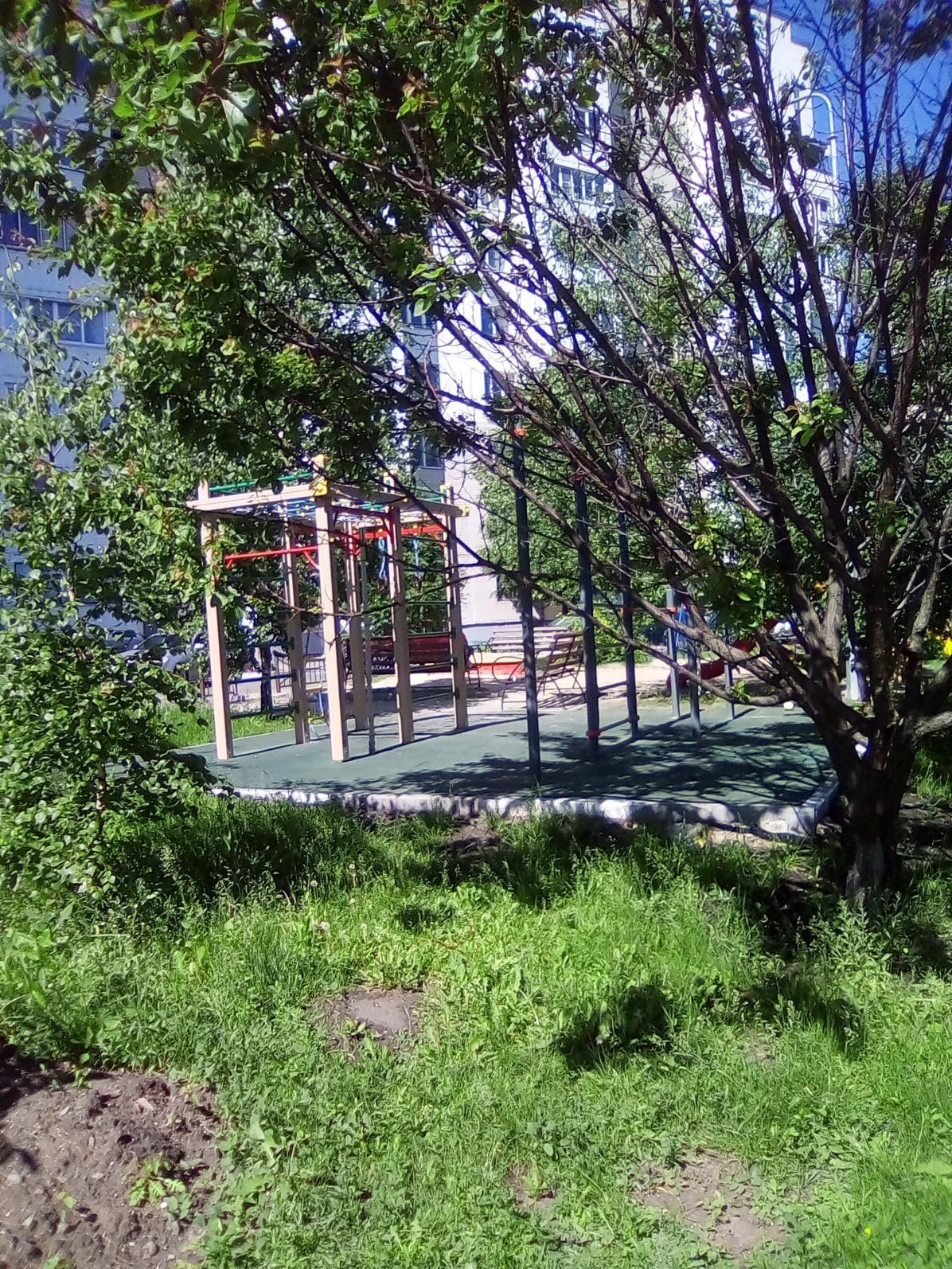 Belgorod - Outdoor Gym - Соборная Площадь