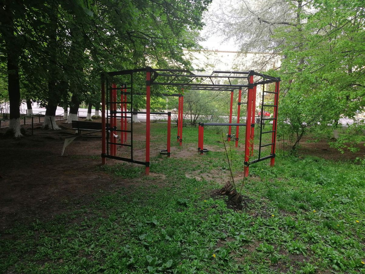 Kyiv - Street Workout Park - The Wings Leather Goods